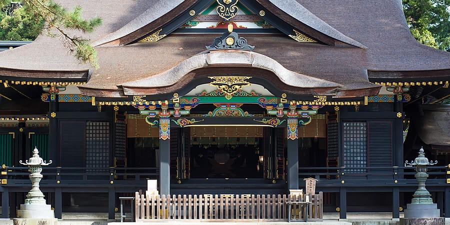神社の正面