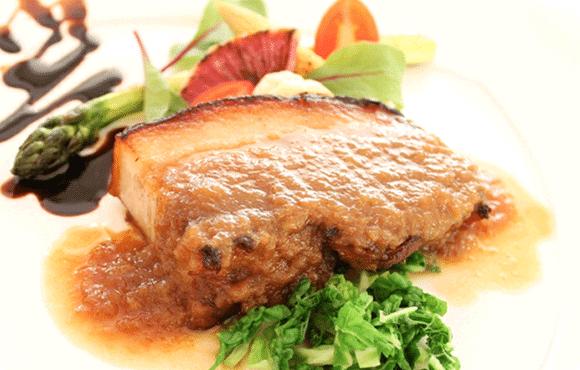 コース料理の写真