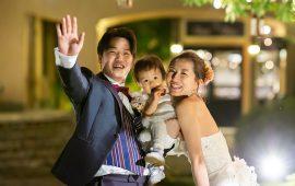 """""""もう一回挙げたい!!""""と結婚式を終えた翌日に思いました!!"""