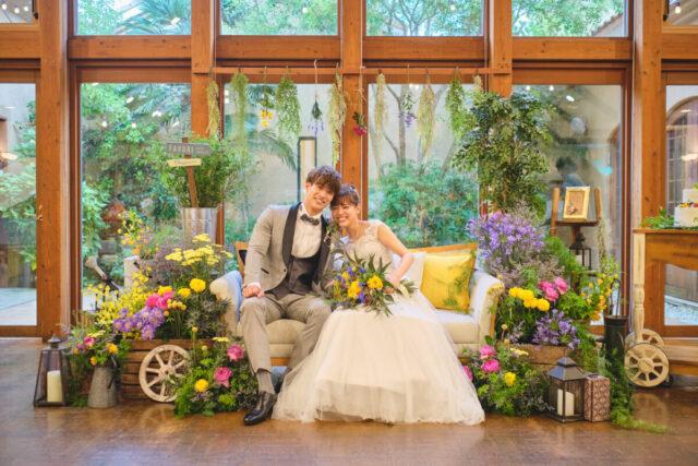 【2021年内ご結婚式限定のお得なプラン】挙式・料理&ドリンク・衣裳・美容着付・会場装花・引出物込み