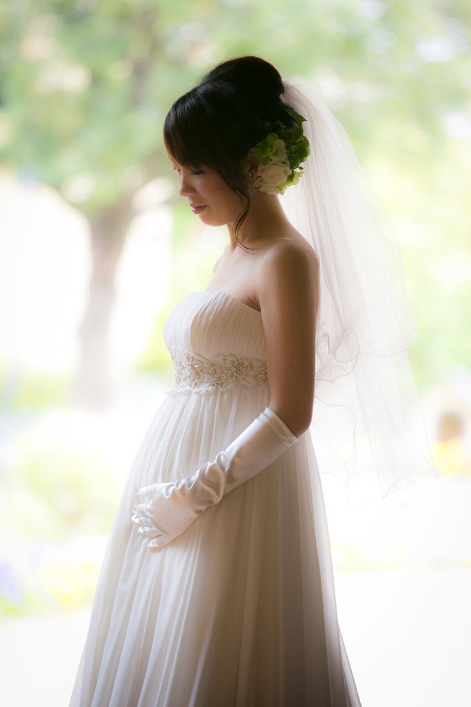 マタニティ花嫁