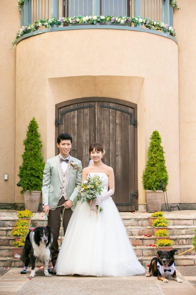 ペット参加型結婚式って??