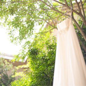 背の高い人に似合うウエディングドレスはスレンダーラインだけじゃない!アレンジ自在のドレスで自分らしさを楽しんで