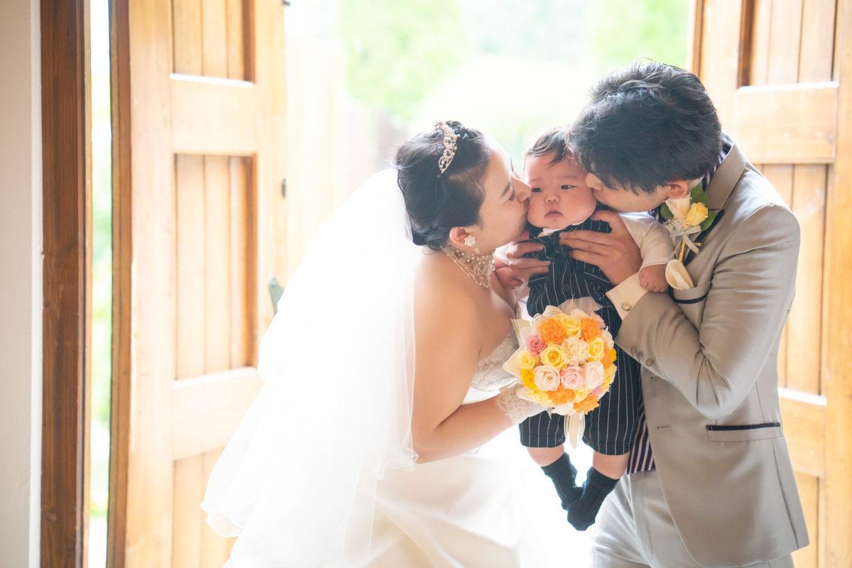 笑いあり、涙ありで、理想通りのとてもアットホームな結婚式