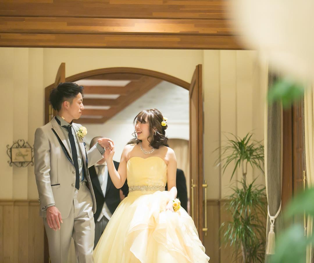 背が低い花嫁さまのドレス_エスポワール
