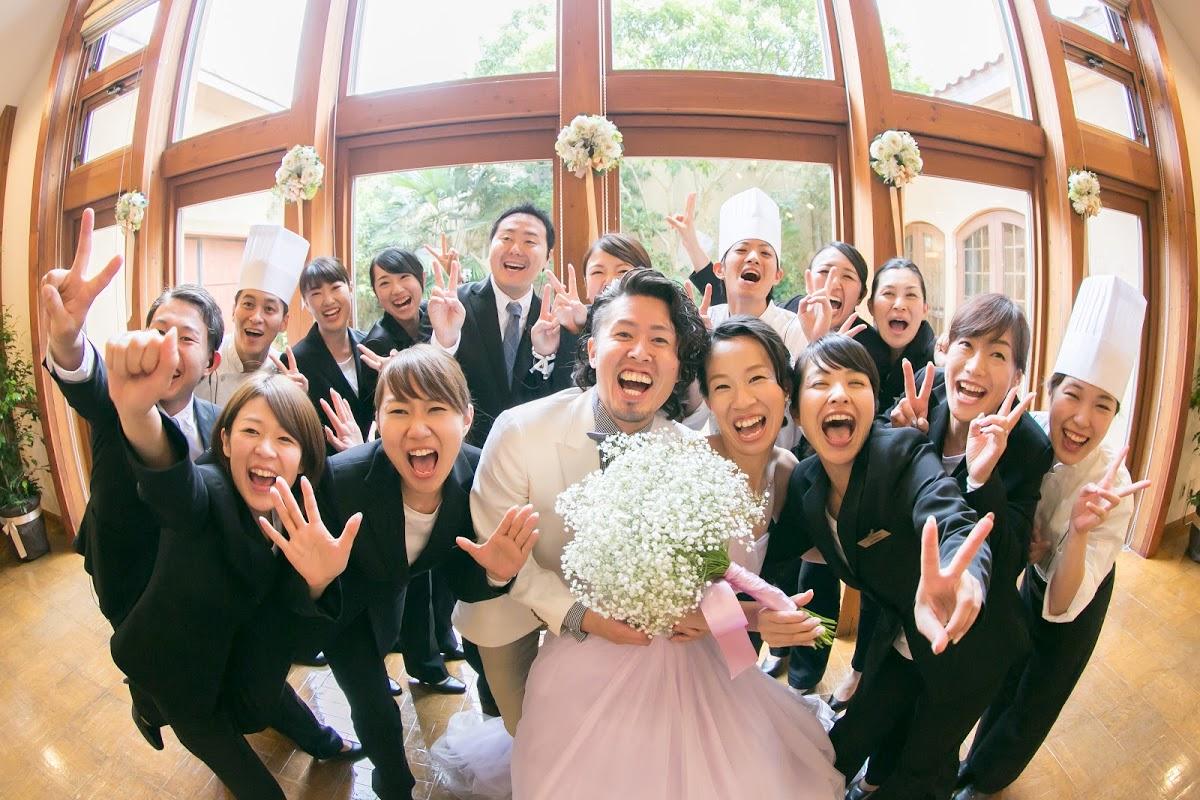 みんな笑顔の結婚式_エスポワール満足度高