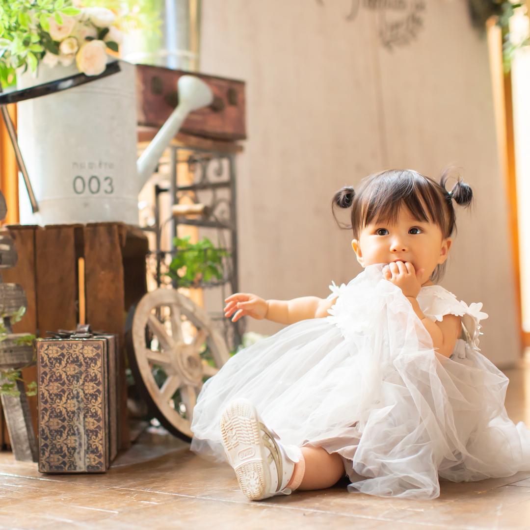 ドレスを着ている女の子(七五三)_エスポワール