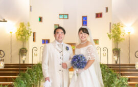 大切な人たちにかこまれてできた結婚式♡