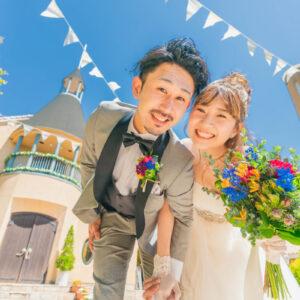 私たちのやりたい事をギュっと詰め込んだ2人らしい結婚式になりました!