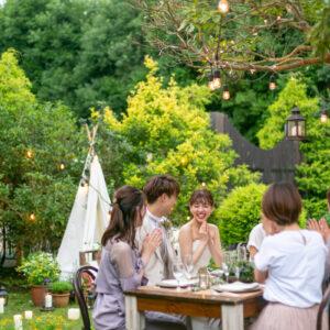 ガーデン会食