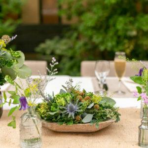 ガーデンテーブルコーディネート